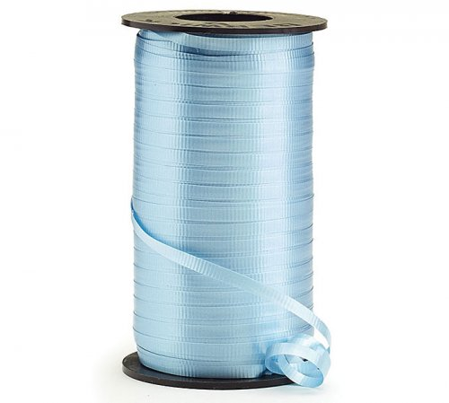 Light Blue Curling Ribbon Roll