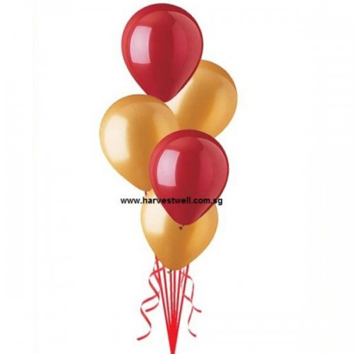 Helium Latex Balloon Table Bouquet
