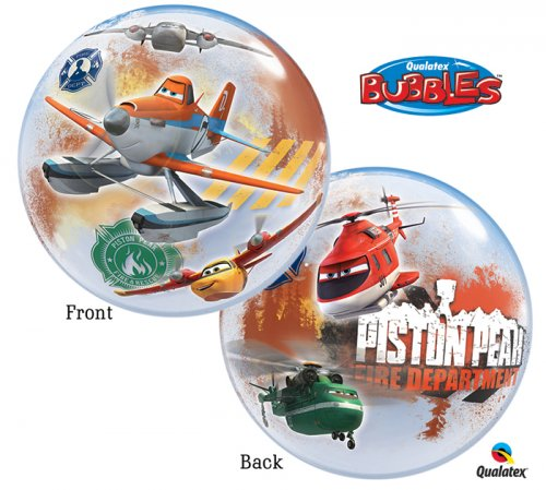 Planes Fires&Rescue Bubble Balloon