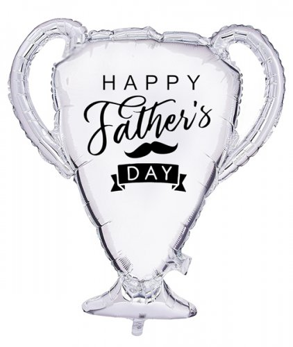 Trophy Father's Day Customized Balloon Size: 23""