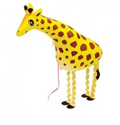 Walking Pet Animal Balloon - Giraffe