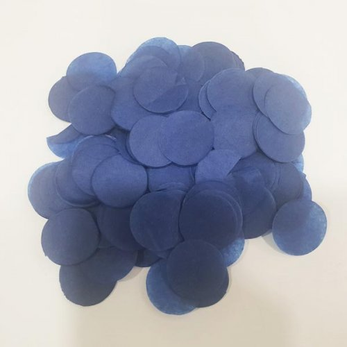 Dark Blue Tissue Confetti