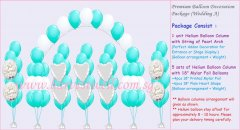 Premium Balloon Decoration Package Wedding (A)
