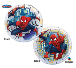 Ultimate Spiderman Bubble Balloon