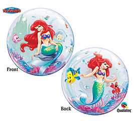 Disney Princess Mermaid Ariel Bubble balloon