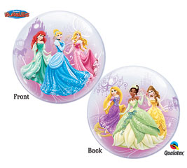 Disney Princess Characters Bubble Balloon