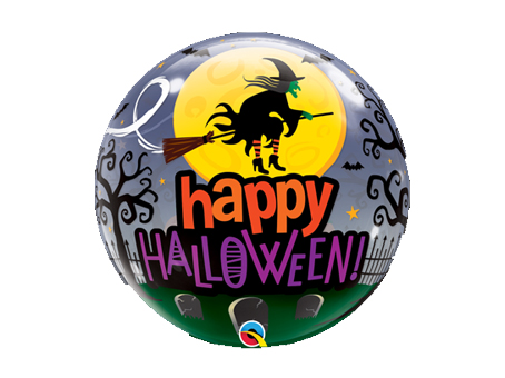 Halloween Witch Bubble Balloon
