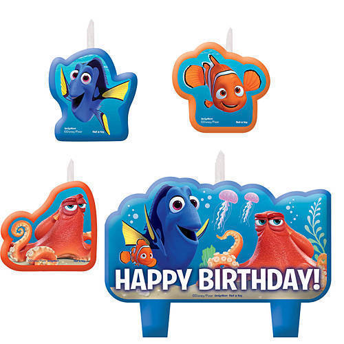 Nemo Finding Dory Birthday Candle Set