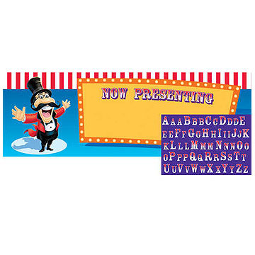 BIG TOP BIRTHDAY PERSONALIZE GIANT BANNER