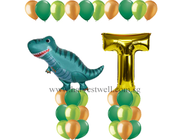 Baby Dino Balloon Value Package