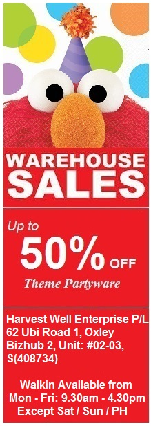 WAREHOUSE SALES 2014