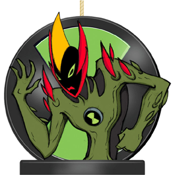 Ben 10 Alien Force Molded Candle