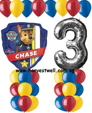 Paw Patrol Age Balloon Value Package
