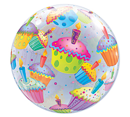 Cupcakes Bubble Balloon