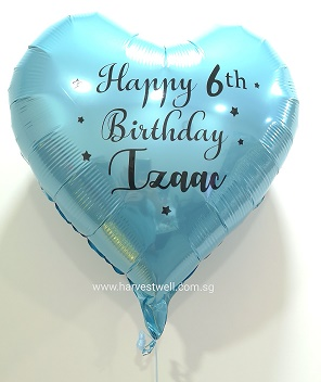 "Custom Print on Foil (18"") Customized Balloon"