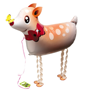 Walking Pet Animal Balloon - Deer