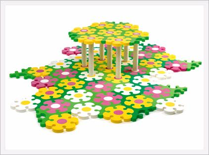 FLOWER TESSELL PLAY MAT