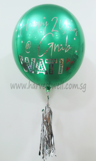 Customize Greeting Orbz Balloon