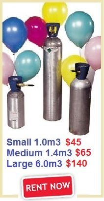 Helium Gas Tank Rental Singapore