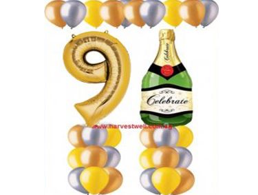Let's Celebrate!! Balloon Value Package