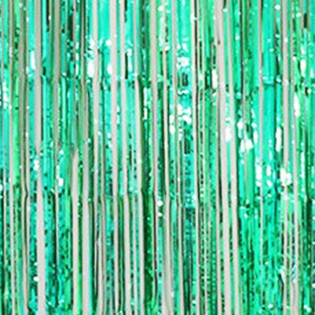 Green Metallic Foil Tinsel