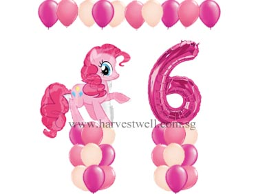 Pinkie Pie Balloon Value Package