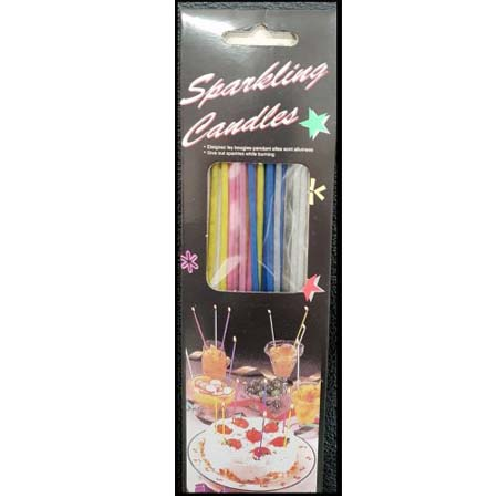 Sparkling Birthday Candles