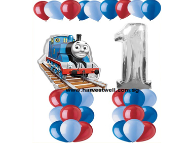 Thomas The Train Age Balloon Value Package