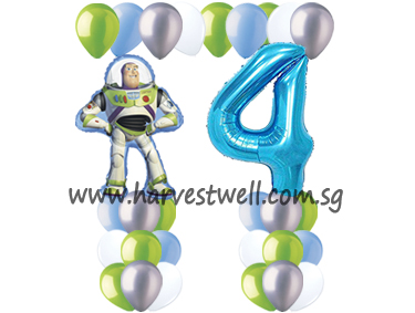 Toy Story Balloon Value Package