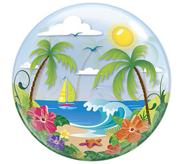 Tropical Bubble Balloon