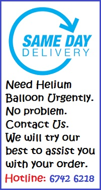 Urgent Balloon Delivery Service Singapore