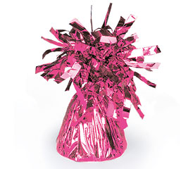 Cerise Foil Balloon Bouquet Weight