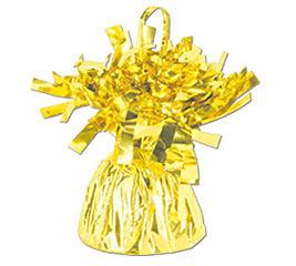 Gold Foil Balloon Bouquet Weight