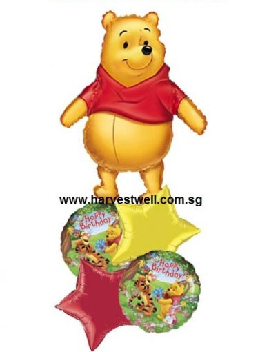 Winnie the Pooh & Friends Balloon Package