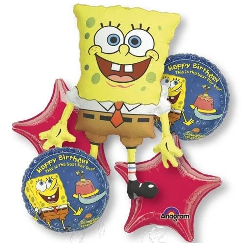 Spongebob Birthday Party Balloon Package