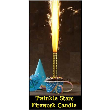 Twinkle Stars Firework Candle